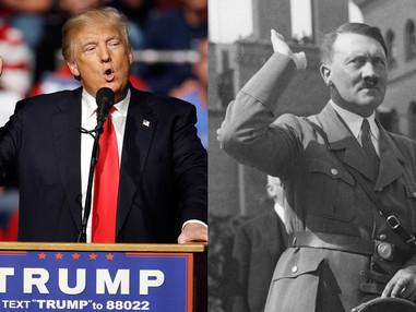 Donald Trump and Adolf Hitler, a Comparison