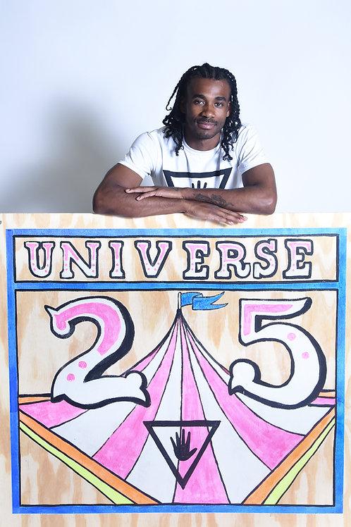 Zachary Rutter Original Universe 25 Paintings