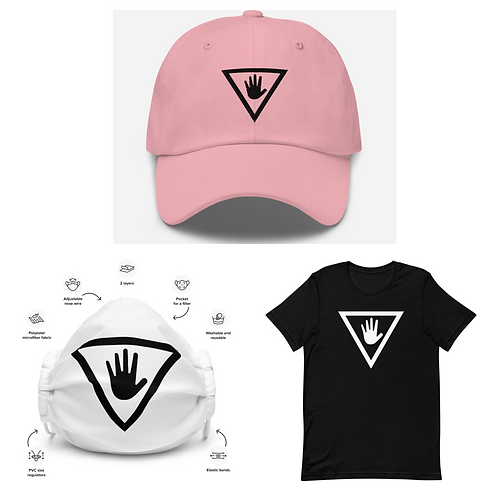 Shirt, Hat, Mask Bundle