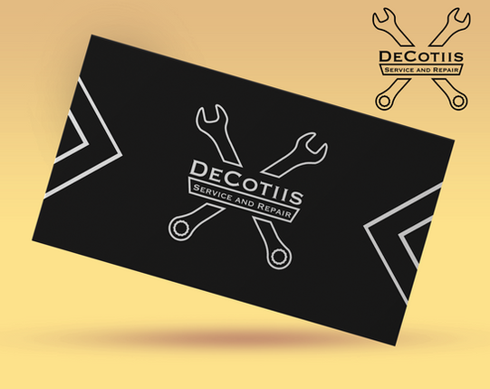 Decotiis: Service and Repair branding