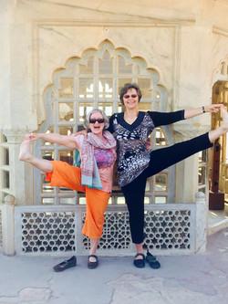 Yoga @ Agra Fort, Agra