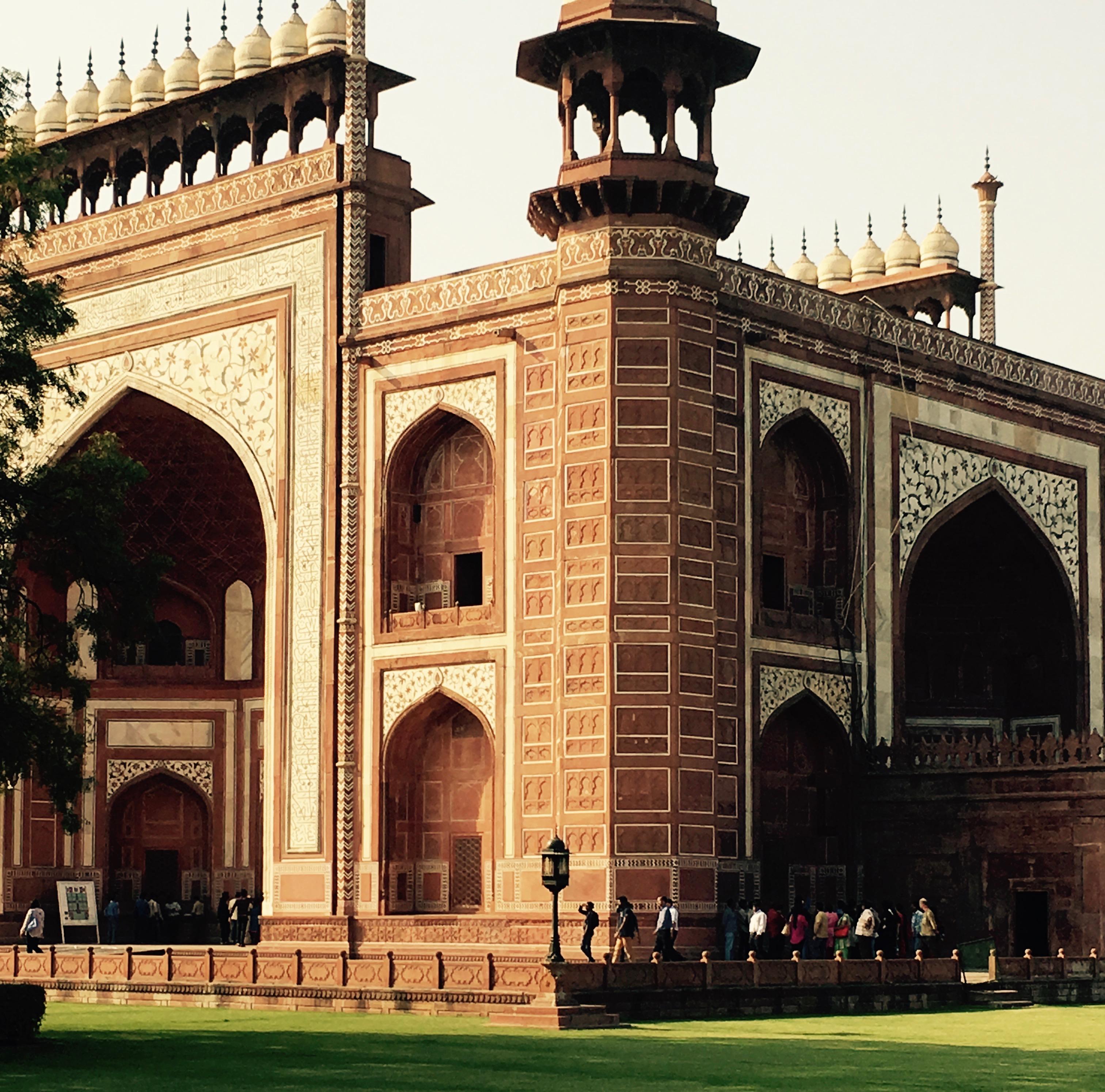 Taj Mahal Entrance, Agra