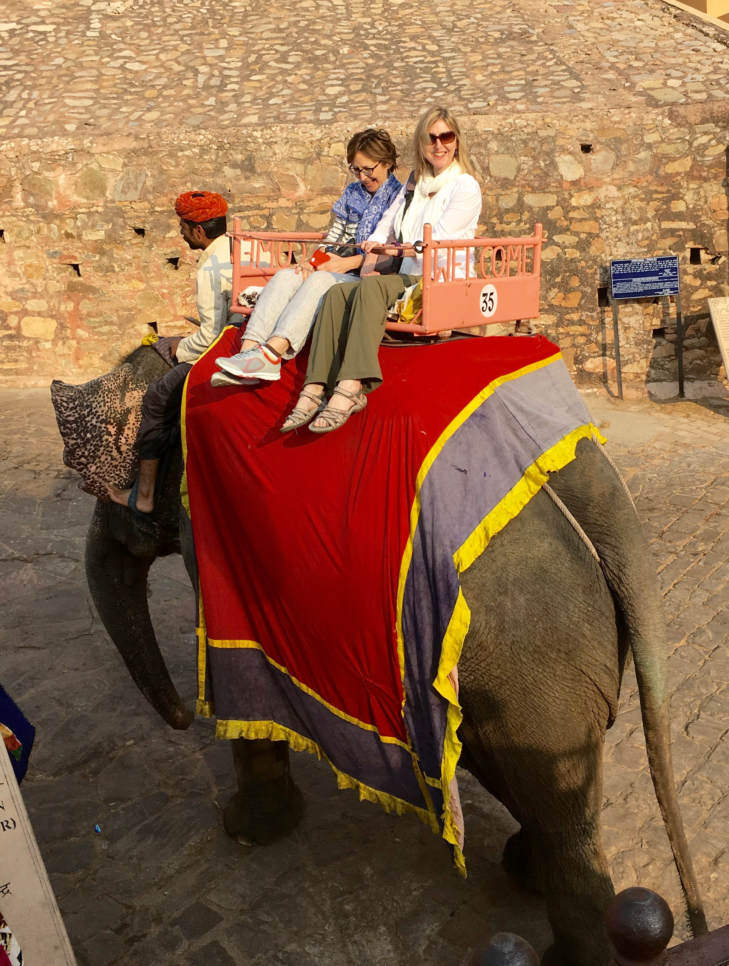 Elephant Ride @ Amber Fort, Jaipur
