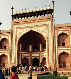 Entrance Gate to Taj Mahal, Agra