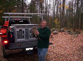 Ruffed grouse & woodcock hunting