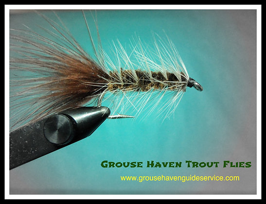 Brown Wooly Bugger