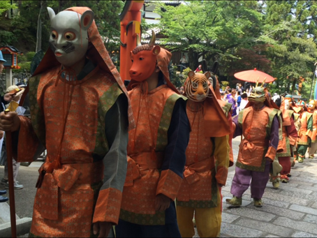 薔薇会式・えと祭り「霊山寺」@奈良