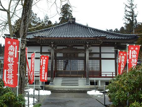 重要文化財2体の仏像が有名な「常楽寺」@富山