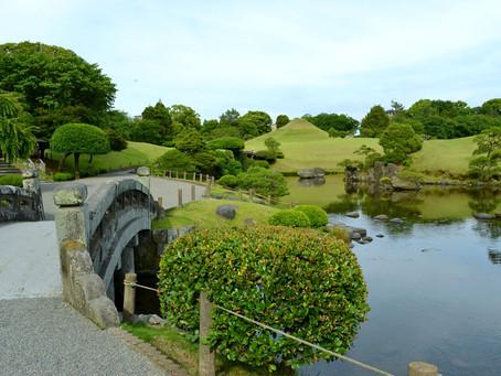 桃山式の回遊庭園「水前寺成趣園」@熊本