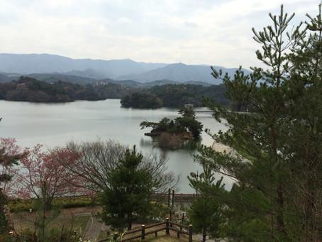 弘法大師空海が改修「満濃池」@香川