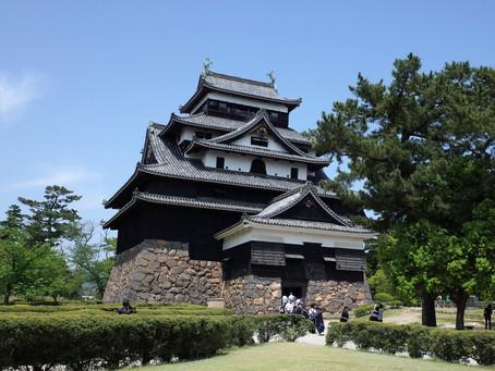 国宝5城の一つ「松江城」@島根