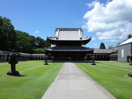 富山県内で唯一の国宝「瑞龍寺」@富山