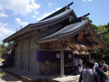 因幡の白兎の神話「白兎神社」@鳥取