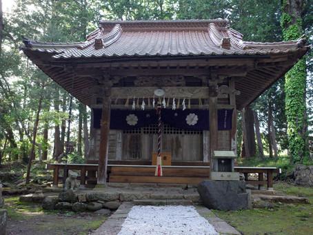大国主命の最初の妻を祀る「売沼神社」@鳥取