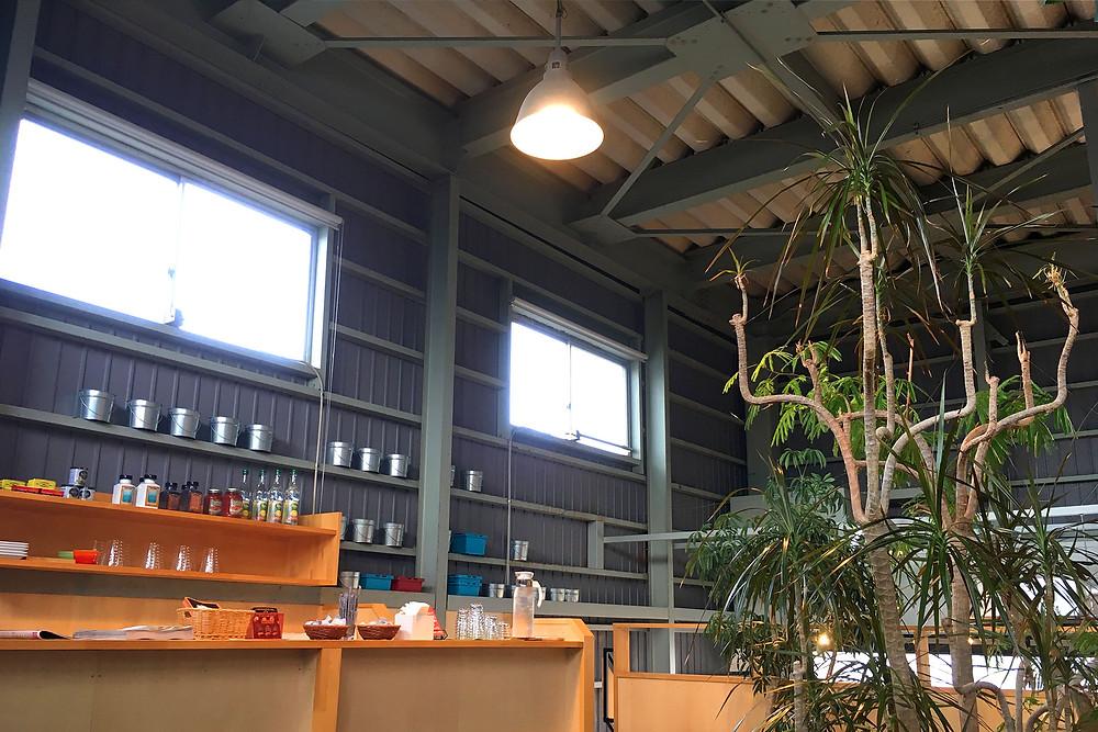 工場カフェ