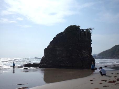 国譲り神話の舞台「稲佐の浜」@島根