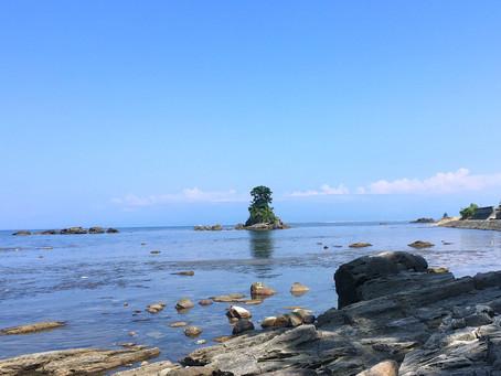 海に面した抜群の景観「道の駅 雨晴」@富山