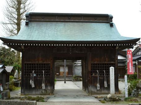 行基菩薩が彫られた本尊を有する「十三寺」@富山
