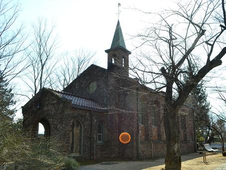 まるで教会みたい「碌山美術館」@長野
