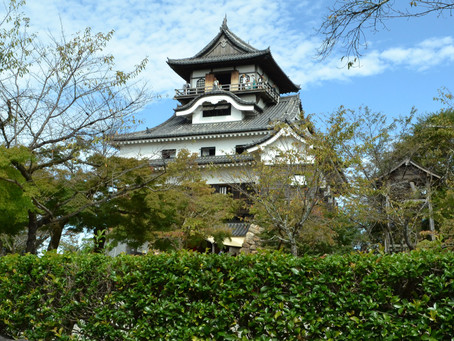 国宝5城の一つ「犬山城」@愛知