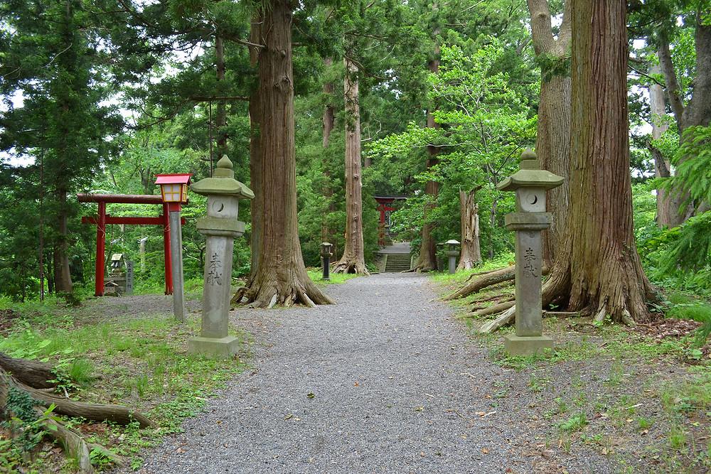 宇賀神社 野尻湖