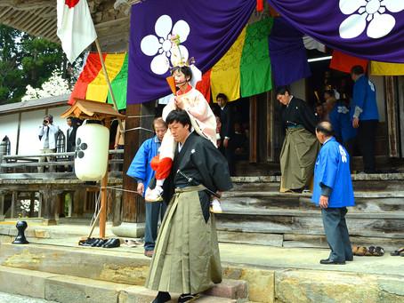法福寺の「明日の稚児舞」@富山