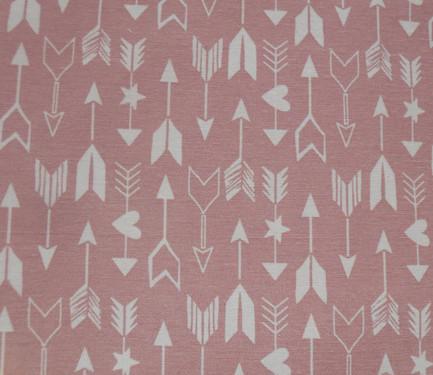 Fondo rosa palo flechas