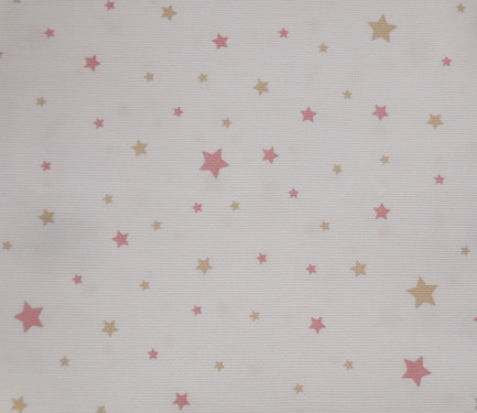 Fondo blanco estrella rosa