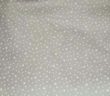 Fondo gris multi estrella blanca