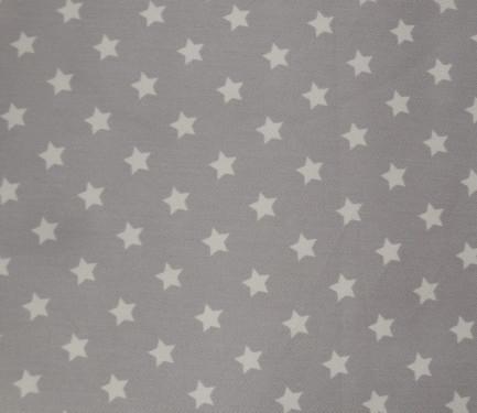 Fondo gris estrella blanca