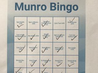Lockdown Munro Bingo