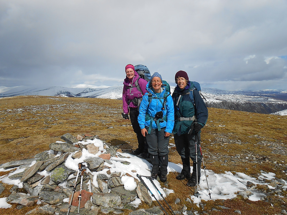 summit Carn Dearg Mor