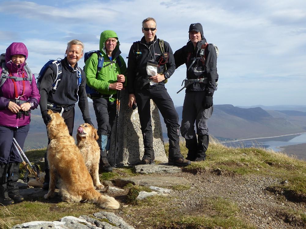 Summit Fionn Bheinn
