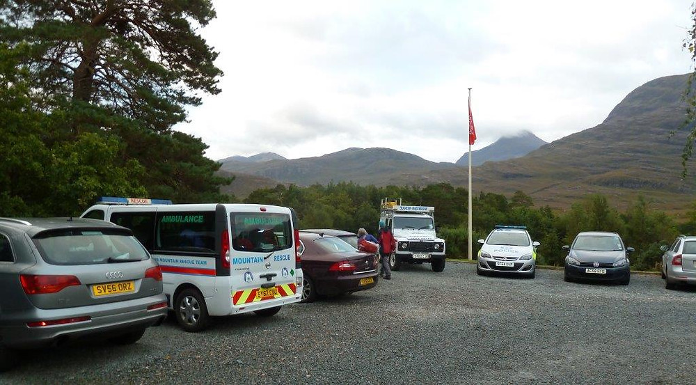 Torridon Youth Hostel car park