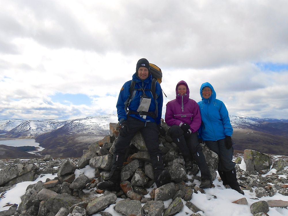 summit Meallach Mhor
