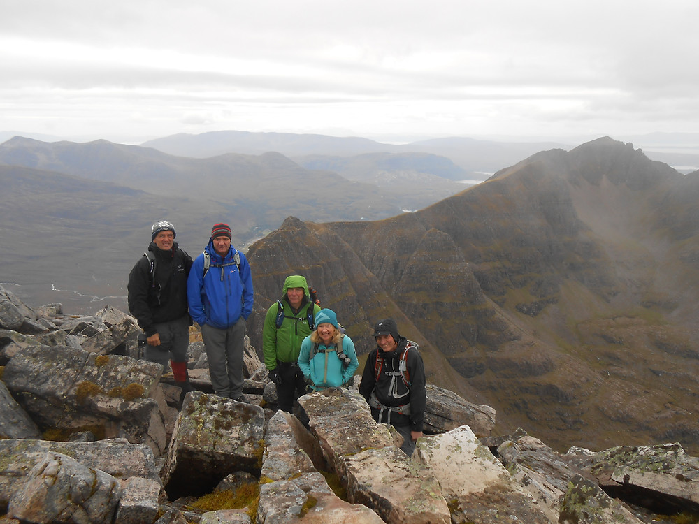 6 on Liathach
