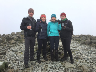 Ben More and other hills: Moira's last munro