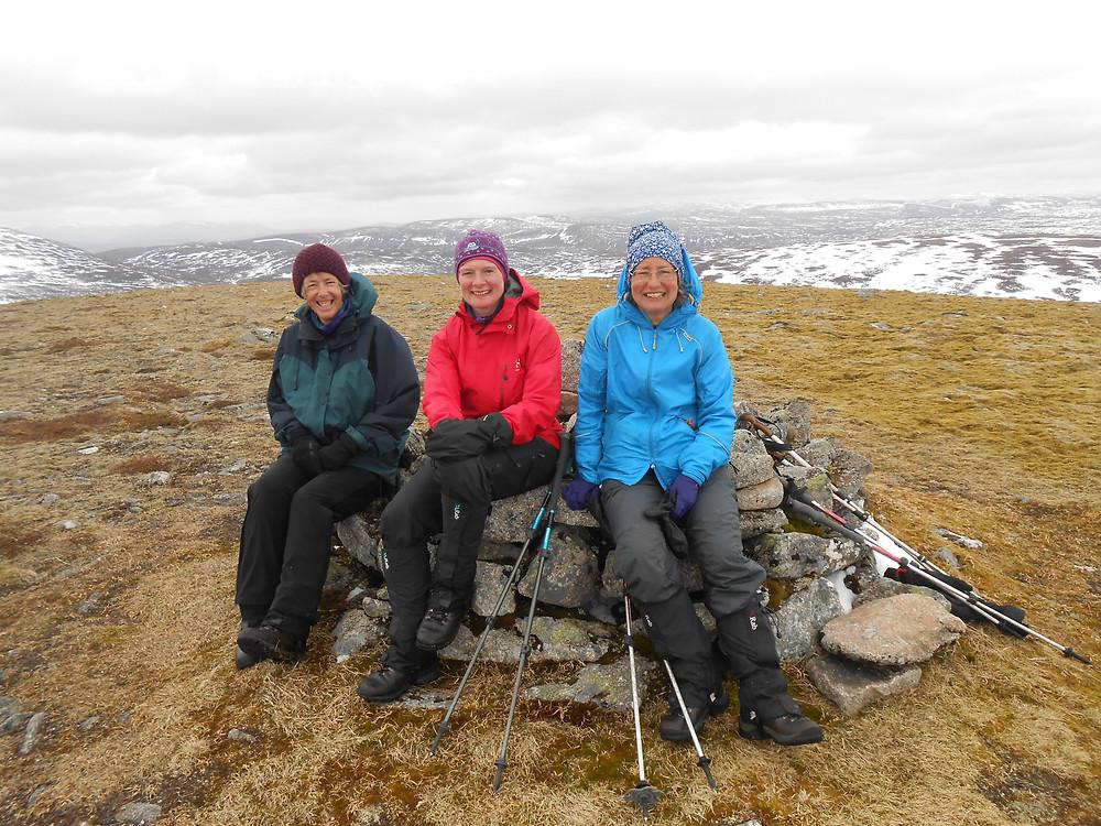 Summit Beinn Bhreac - corbett no.4