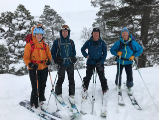 Ballochbuie Forest Ski Tour