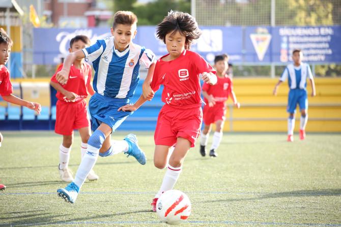 2019年9月ASLJ選抜スペイン遠征|U11試合結果