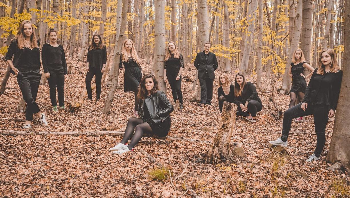 Onzemble Coeln Gruppenbild Wald