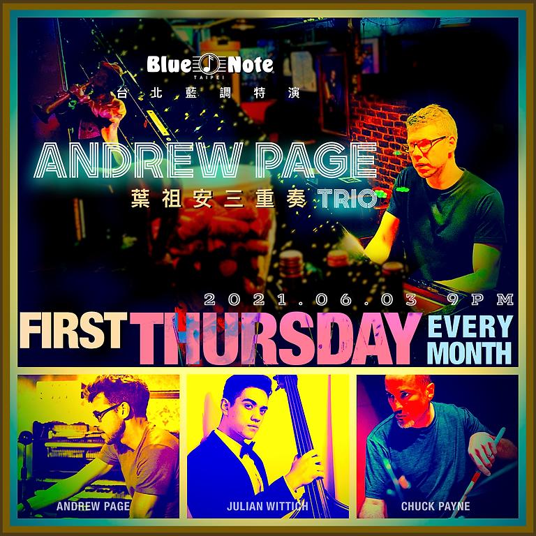 台北藍調特演 葉祖安三重奏 Andrew Page Trio 0603