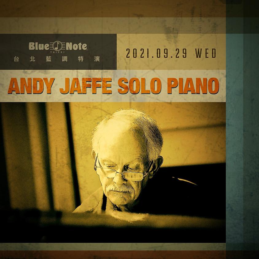 台北藍調特演 安迪 • 賈菲鋼琴獨奏會 Andy Jaffe Solo Piano | Personal Standards