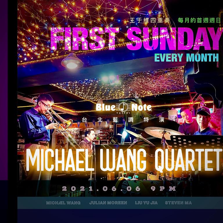 台北藍調 首週週日特演 王于維四重奏 Michael Wang Quartet | Every 1st Sunday
