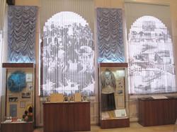 Проекция на шторы
