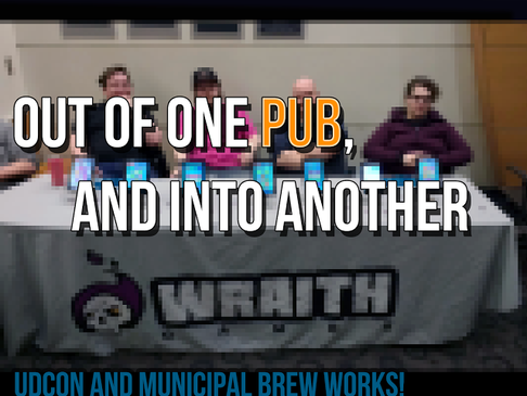 Out of One Pub and Into Another – UDCon and Municipal Brew Works!