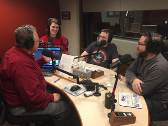 Clayton Belcher of Jolly Crouton Media, Jay Kidd of Wraith Games, and Rob Buchheit of Nector Studios on NPR
