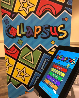 Collapsus tablet and banner