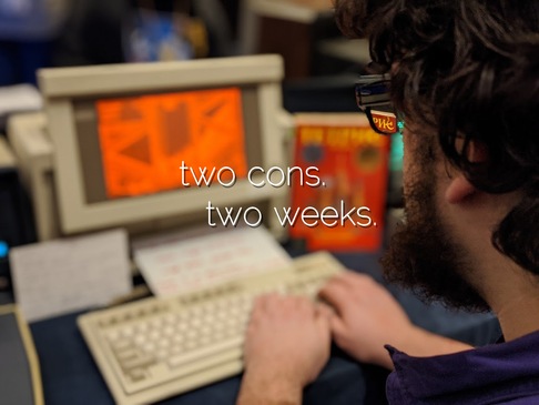 Two cons. Two weeks.