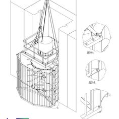 W2E 3D cross section